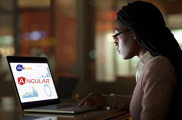 Pourquoi développer son application avec le framework Angular ? WEBGRAM, meilleure entreprise / société / agence  informatique basée à Dakar-Sénégal, leader en Afrique, ingénierie logicielle, développement de logiciels, systèmes informatiques, systèmes d'informations, développement d'applications web et mobiles