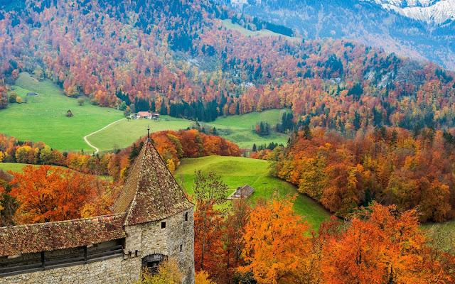 Gruyére in Autumn - Switzerland