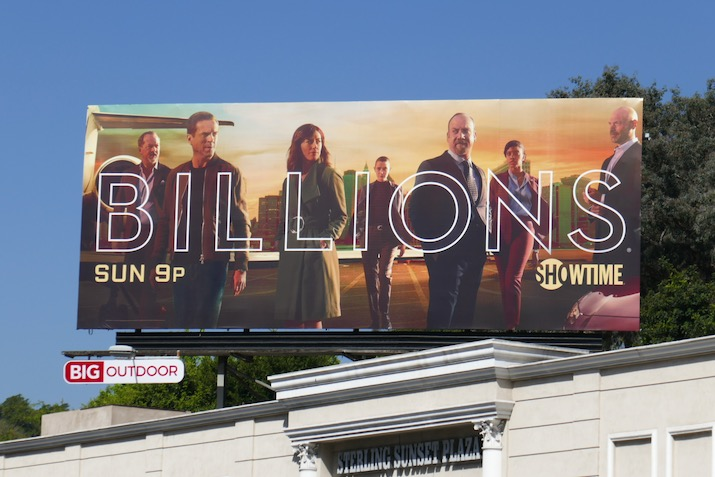 Billions season 5 billboard