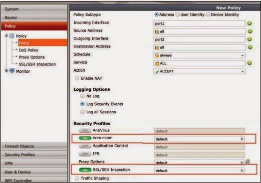 IT Security - Multi Platform : Configuring FortiOS v5 0