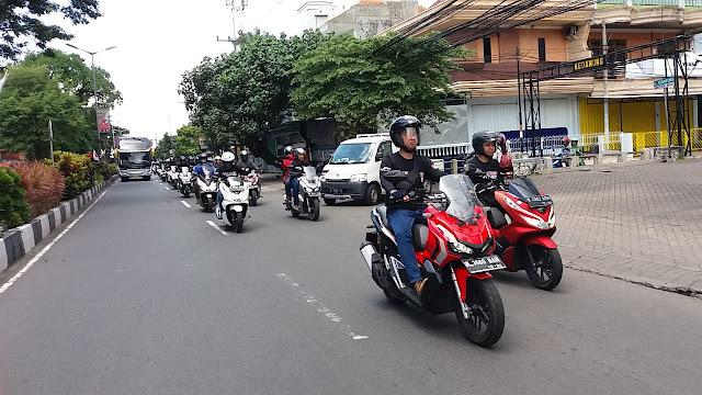 test ride honda adv