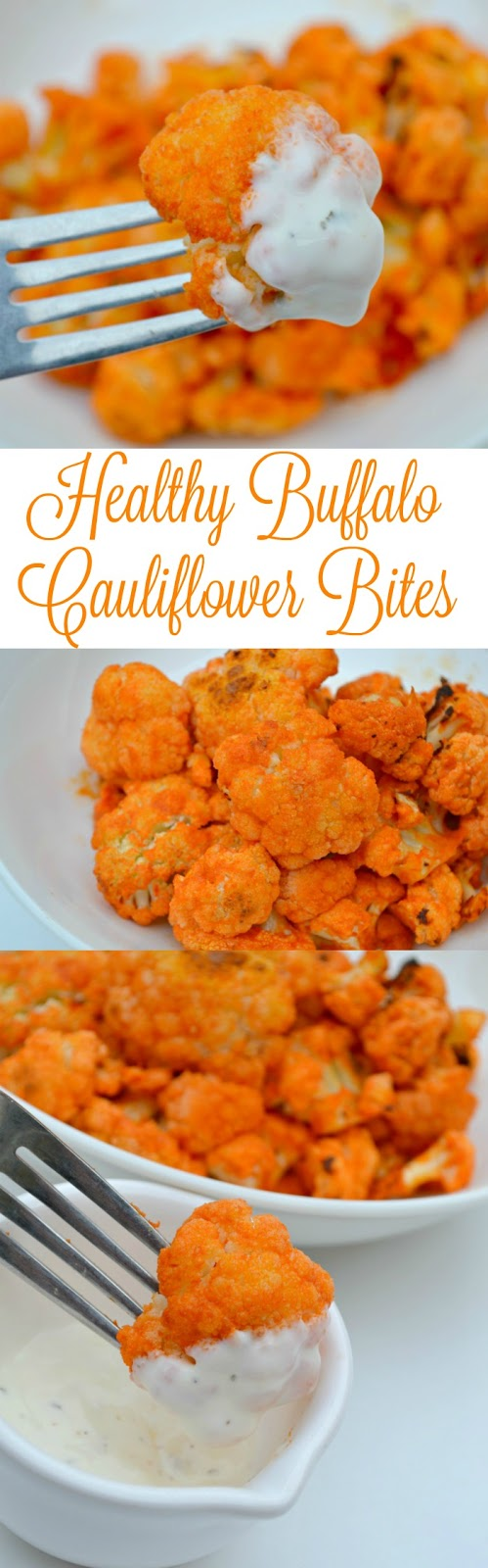 The Best Healthy Buffalo Cauliflower Bites