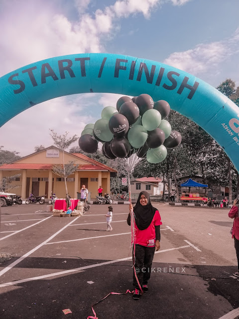 Temerloh Getting to Zero HIV Fun Run. (Hari Aids Sedunia)