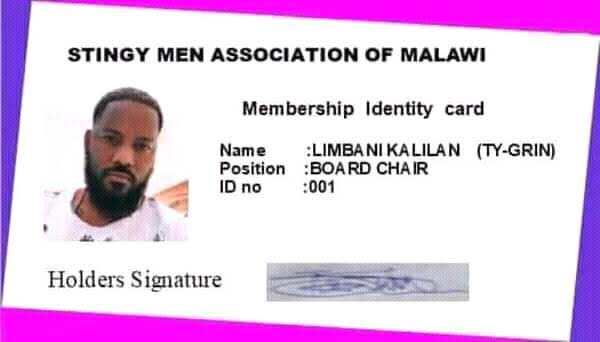 "MAD OOO!! Man Gets Printed ID Card For ""Stingy Men Association Of Nigeria"" (SEE VIDEO)"