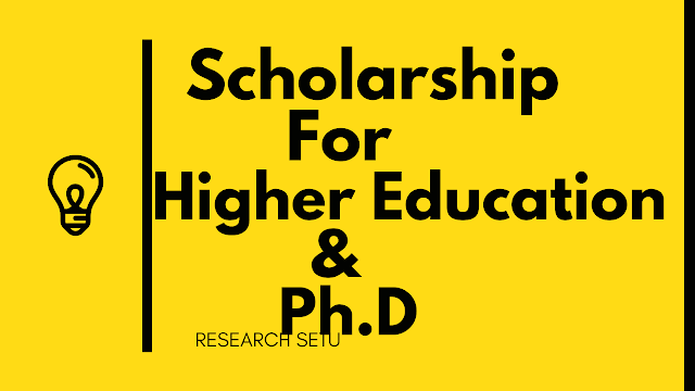 SCHOLARSHIP FOR HIGHER EDUCATION APPLICATION FORM