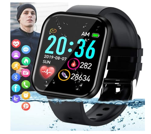 Amokeoo Fitness Smart Watch Activity Tracker Touch Screen