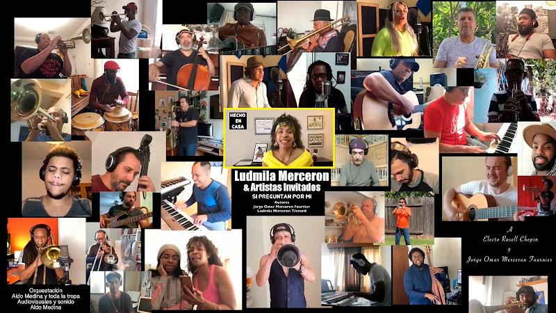Ludmila Merceron & Artistas Invitados - ¨Si preguntan por mi¨ - Videoclip - Director: Aldo Medina. Portal Del Vídeo Clip Cubano