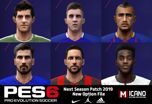 PES 6 Next Season Patch Best Option File - Released 21 09