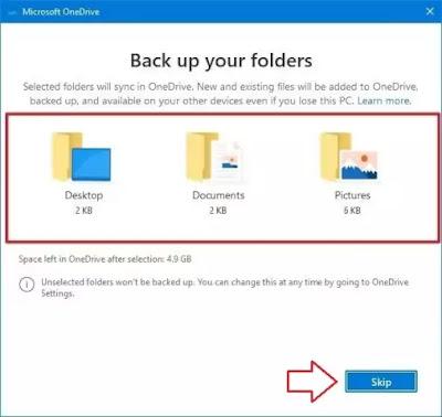 memilih-folder-onedrive
