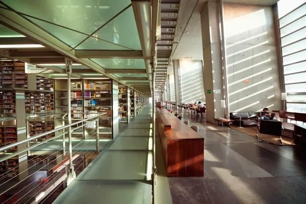 Biblioteca Vasconcelos Alberto Kalach Revista