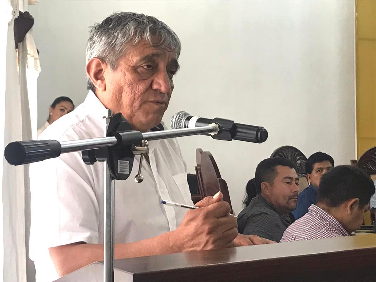 Arias es el ministro que más trabajo realizó para contener el Covid-19 en Bolivia / ARCHIVO MOPSV