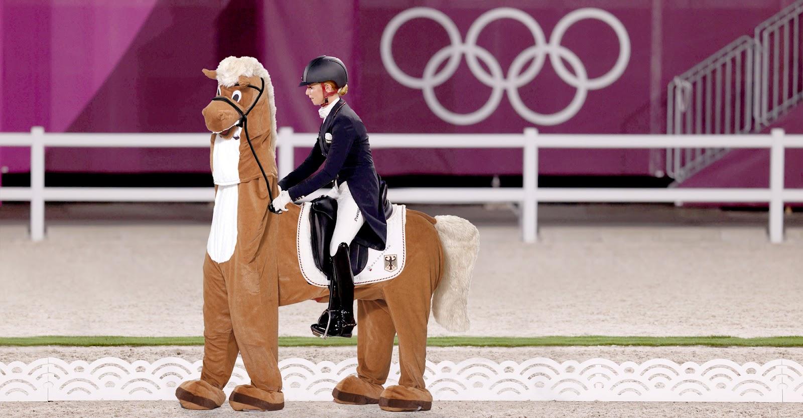 Wurde beim Pferd geschummelt? Deutscher Dressur-Olympiasiegerin droht Disqualifikation