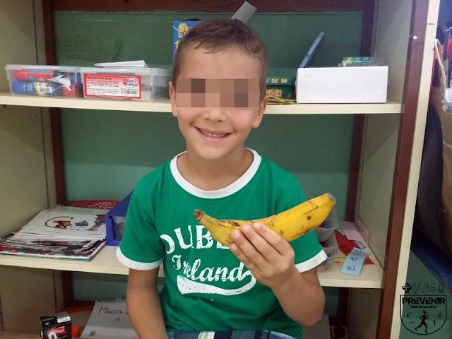 comer fruta habito vida saludable niños arucas