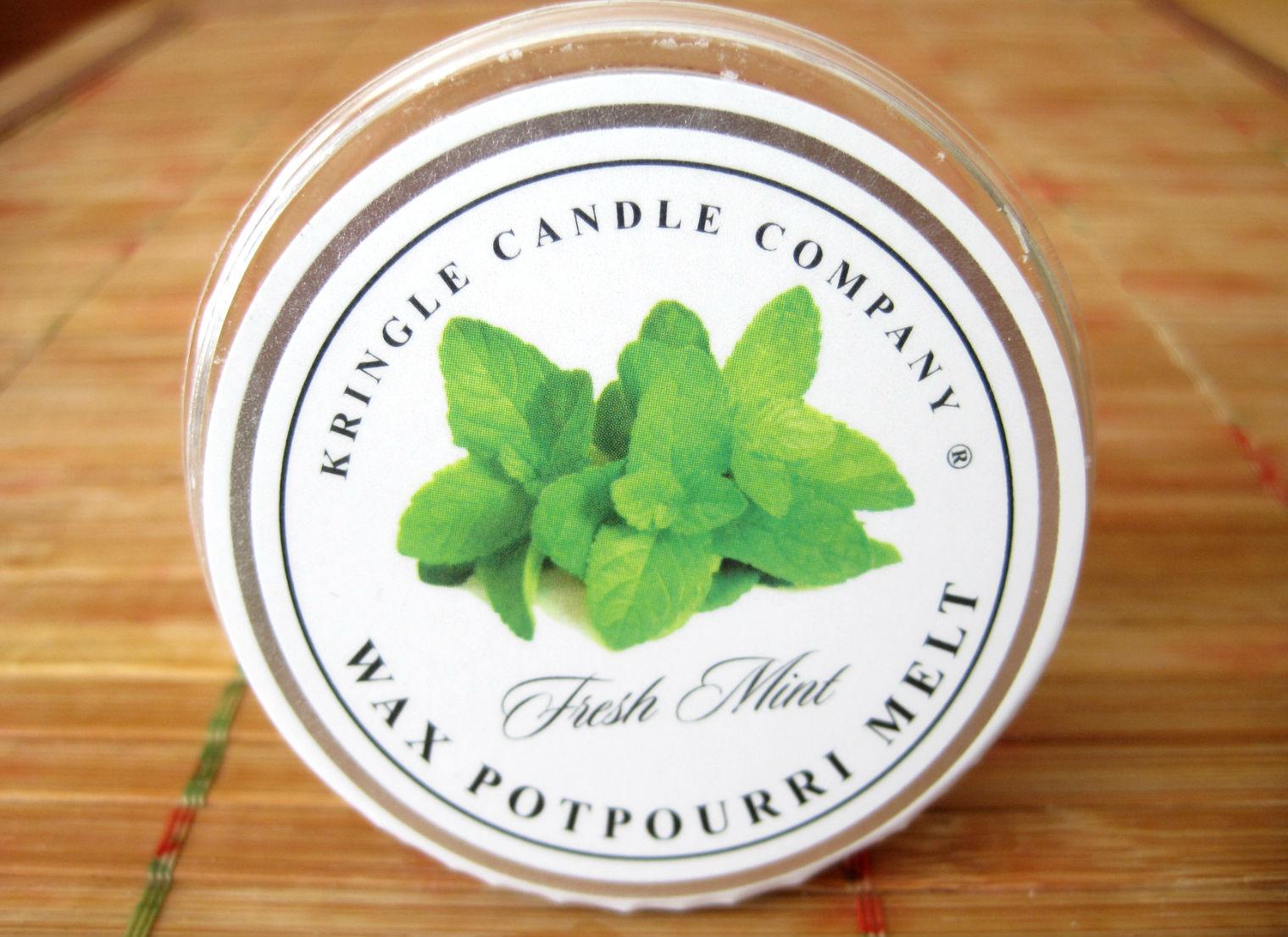 Kringle Candle Fresh Mint - czuję do niego miętę