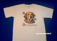 Golden Retriever T Shirt Face USA