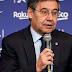 الشتائم انهالت على رئيس برشلونة عند وصوله اجتماع إقالة كيكي سيتين