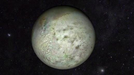 Bulan Neptunus Triton terlihat secara rinci dalam peta gres yang paling rinci yang pernah  NASA Merilis Peta Terbaik Bulan Neptunus Triton