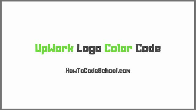 UpWork Logo Color Code