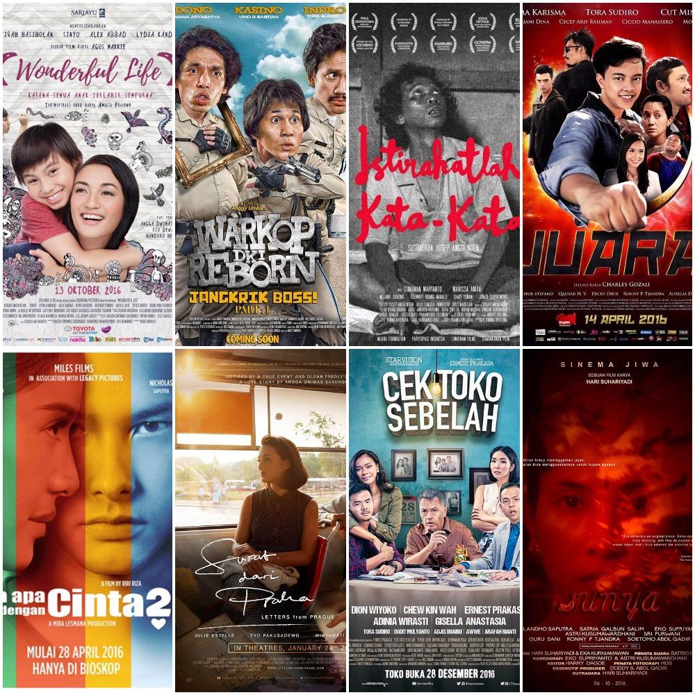 15 Film Indonesia Terbaik 2016