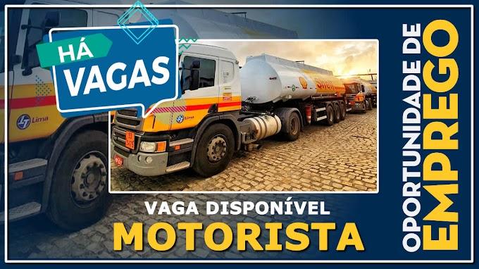 Lima Transportes abre vagas para Motorista