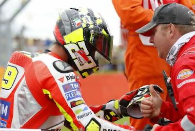 Iannone Absen di GP Jepang, Ducati Kembali Panggil Pirro