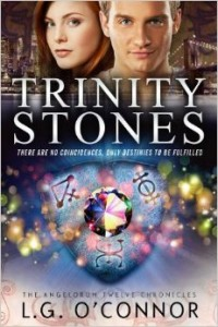 Trinity Stones by LG O'Connor - book tour, review, and inspired recipe | www.girlichef.com
