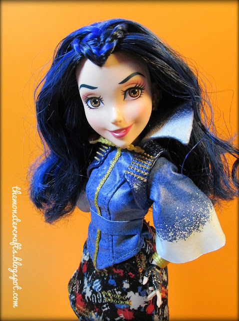 Disney Descendants Evie Monster Crafts doll photography
