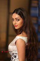 Actress Pooja Salvi Stills in White Dress at SIIMA Short Film Awards 2017 .COM 0156.JPG