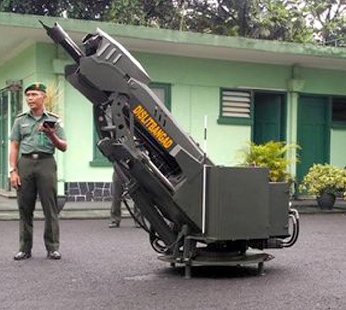 Mekatronik Mortir 81 mm, buatan Dislitbangad TNI AD