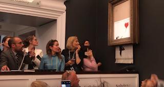 Banksy und die geplante Obsolenz | Der Akt der Zerstörung als kreativer Bestandteil der Kunst