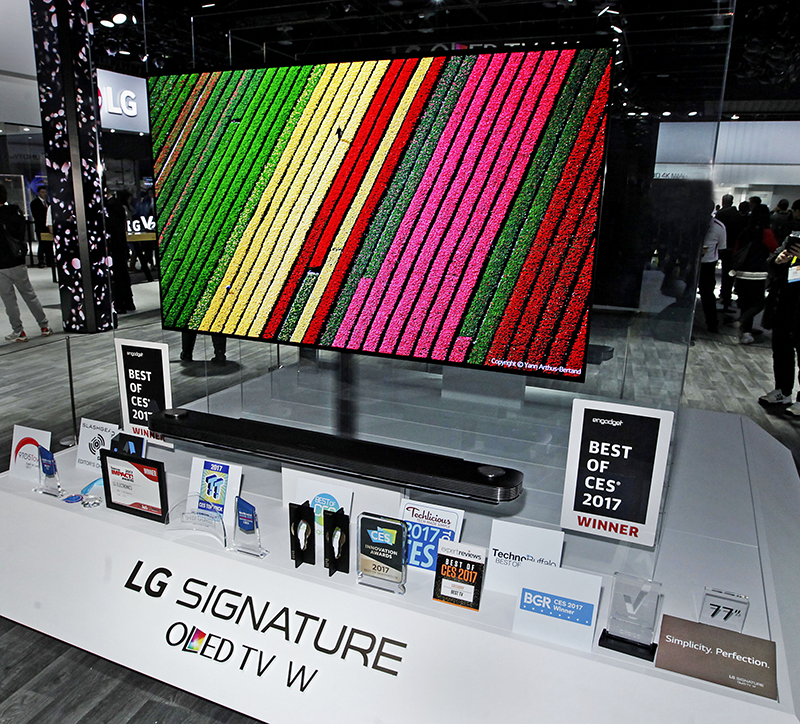 LG Wins The Best Of The Best Title At CES 2017!