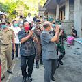 Bupati Gede Dana Sambangi Rumah Kapten I Gede Kartika