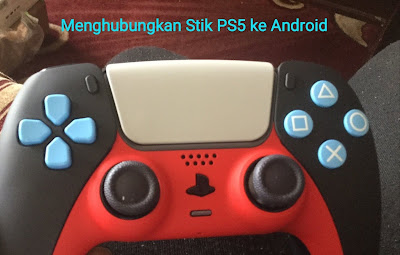 cara menghubungkan stik ps5 ke android