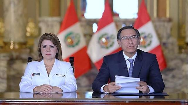 Martín Vizcarra anunció medidas contra coronavirus en Perú