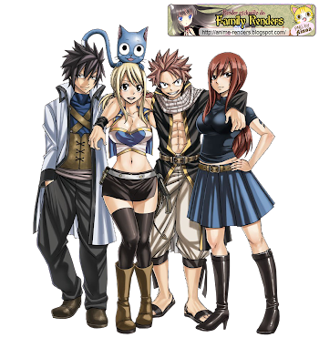 ANIME | FAMILY RENDERS: PNG-FAIRY TAIL