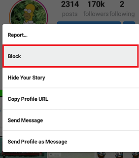 How To Block,Unblock Someone On Instagram(With Pictures) ~ Tech Hunt