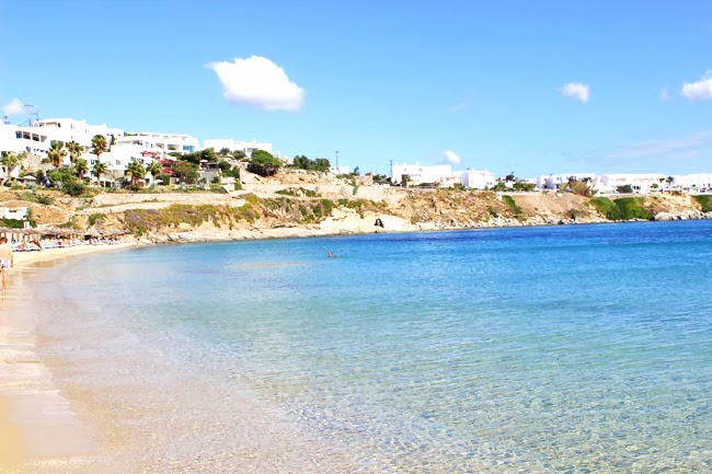 Best Island Beaches For Partying Mykonos St Barts: Paraga Beach & Psarou Beach
