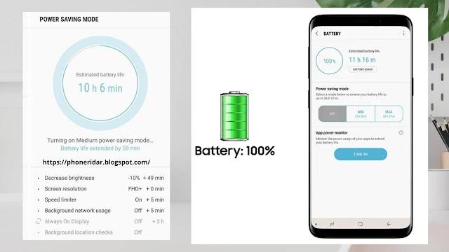 Smartphone Battery Saver Tips