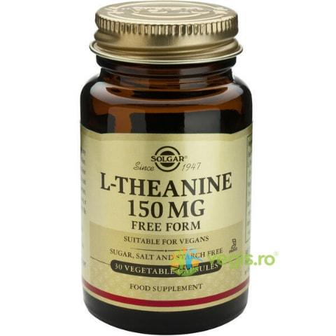 L-Theanine (L-Teanina) 150mg 30cps Vegetale SOLGAR