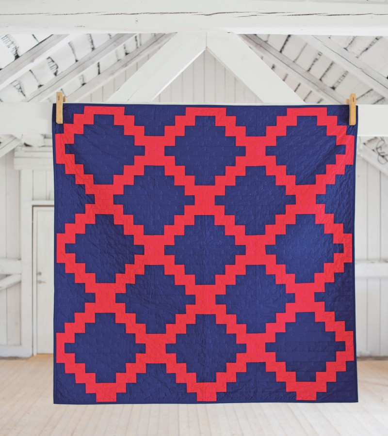 Quilt Local by Heather Jones - Central Parkway Quilt | Red Pepper Quilts 2015