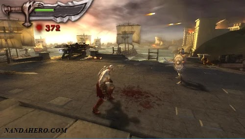 game adventure ppsspp god of war