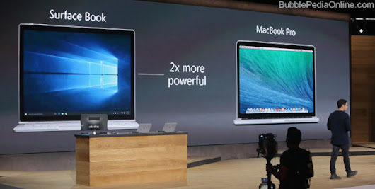 Microsoft launches Surface Book Laptop