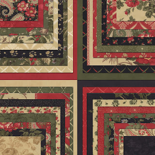 Moda WINTERGREEN Christmas Quilt Fabric by 3 Sisters