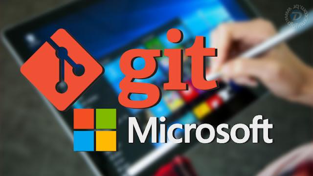 Microsoft adota o Git