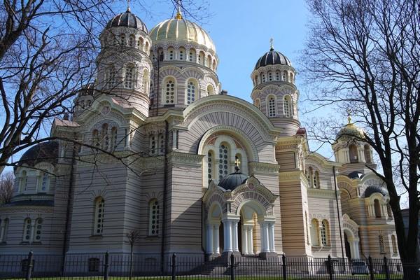 riga cathédrale nativité orthodoxe