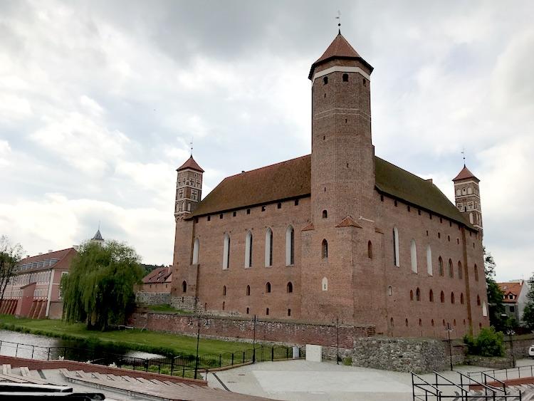 lidzbark warmiński  zamek zwiedzanie film