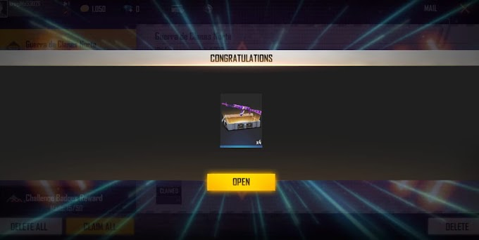Free Fire redeem code for today (20th February) claim Weapon Loot Crate