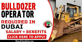Bulldozer Operator Job in Ras Al Khaimah, UAE | Salary AED 2001-2500