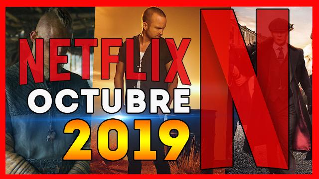 El mes de octubre ya está a la vuelta de la esquina, por lo que ha llegado el momento de hacer nuestro ya tradicional repaso a todos los estrenos que llegarán a Netflix en octubre de 2019.