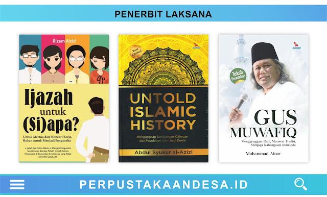 Daftar Judul Buku-Buku Penerbit Laksana